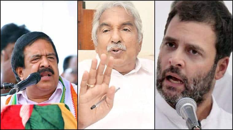 Kerala congress, congress, Kerala government, Oommen Chandy, Chandy, Rahul Gandhi, Ramesh Chennithala, Chennithala, VM Sudheeran, KPCC, PCC, Oommen Chandy meets Rahul Gandhi, india news