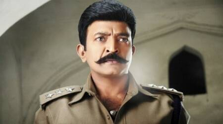 Rajasekhar, Rajasekhar police, Rajasekhar cop, Rajasekhar khaki, Rajasekhar police role, Rajasekhar police avatar, Rajasekhar cop look, Rajasekhar new look, Rajasekhar telugu actor, Rajasekhar actor, Entertainment