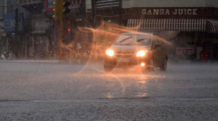 Rajasthan, heavy rainfall, heavy rain, Monsoon, Flood, Weather, weather forecast, Weather report, disaster relief official, Indian Express News