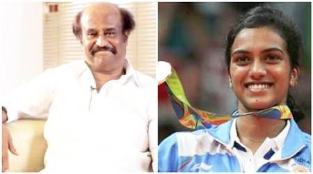 PV Sindhu, Rio Olympics 2016, PV Sindhu silver, rajinikanth,PV sindhu rajinikanth, amitabh bachchan, rajinikanth PV sindhu, deepika padukone, bollywood stars wishing PV Sindhu, PV Sindhu news, PV Sindhu latest news, entertainment news