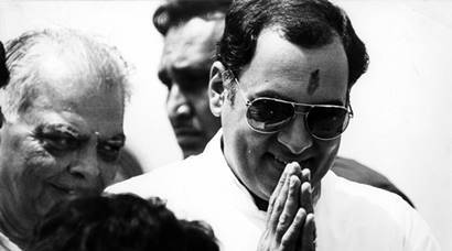 Rajiv Gandhi's 72nd birth anniversary: Rare pictures from Express archives