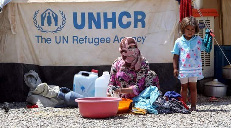 refugee camp iraq, un refugee camp, unhcr, un high commission for refugees, new refugee camp iraq, unhcr refugee camps, middle east news, world news, iraq news, indian express