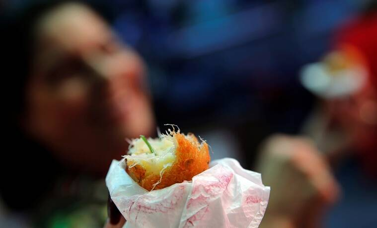 "A view of traditional bolinhos de bacalhau (fried codfish balls) in Rio de Janeiro, Brazil, May 7, 2016. REUTERS/Sergio Moraes SEARCH ""RIO FOOD"" FOR THIS STORY. SEARCH ""THE WIDER IMAGE"" FOR ALL STORIES."