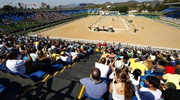 Equestrian - Eventing Individual Dressage Day 1