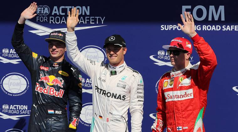 Rosberg seals Belgian GP pole