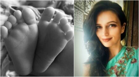 Roshni Chopra shares first photo of her newborn son with a lovely poem, see pic