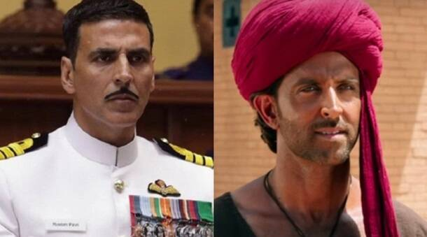 Rustom, Mohenjo Daro, Rustom box office, mohenjo daro box office, rustom akshay kumar, hrithik roshan mohenjo daro, akshay kumar, hrithik roshan, rustom vs mohenjo daro box office, rustom box office collection, mohenjo daro box office collection, entertainment news, bollywood