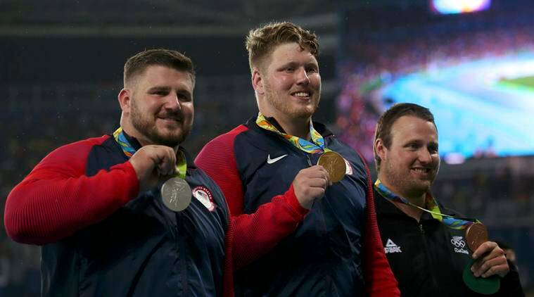 Ryan Crouser, Joe Kovacs, Ryan Crouser Joe Kovacs Olympic Shot Put, Ryan Crouser Joe Kovacs Rio, Rio 2016 Olympics, Olympics, Shot Put
