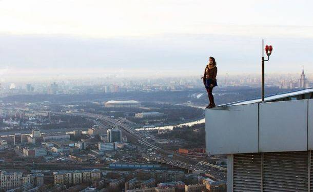 This Russian girl takes the scariest - yet coolest - selfies EVER