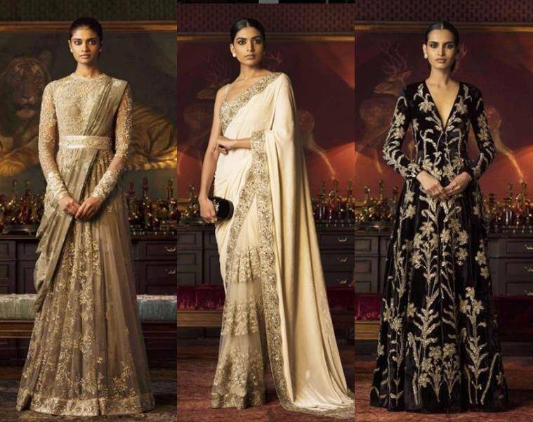 Sabyasachi's creations from his Firdaus collection. (Source: Instagram/sabysachiofficial)