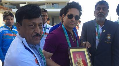 Rio 2016 Olympics: Sachin Tendulkar cheers Indian athletes in Games Village