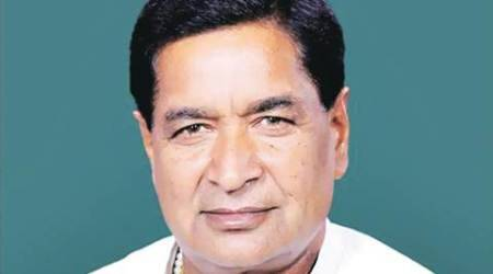 Kurukshetra MP Raj Kumar Saini holds rally inRohtak