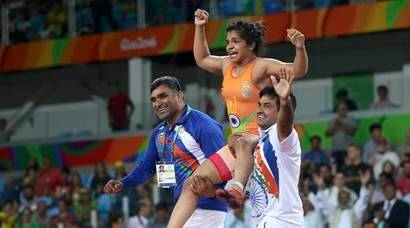 Sakshi Malik becomes fourth Indian woman to win medal at Olympics