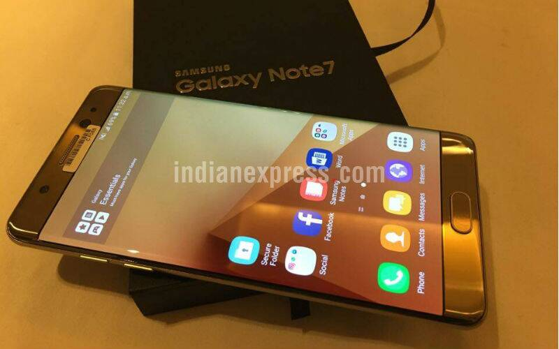 Samsung Galaxy Note 7 launched in India: Key specifications