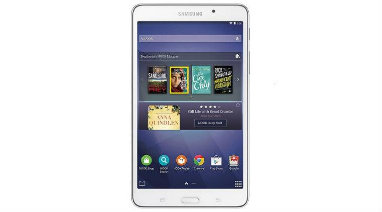 Samsung, Barnes & Noble, e-reader, Galaxy Tab A Nook 7, Galaxy Nook tab, Samsung tab, Barnes & Noble tab, Nook tab, Galaxy Nook 7 tab, amazon kindle, kindle fire, technology, technology news