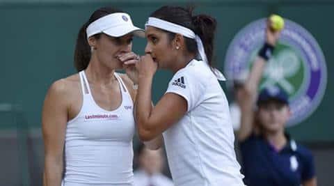 Sania Mirza ends partnership with Martina Hingis