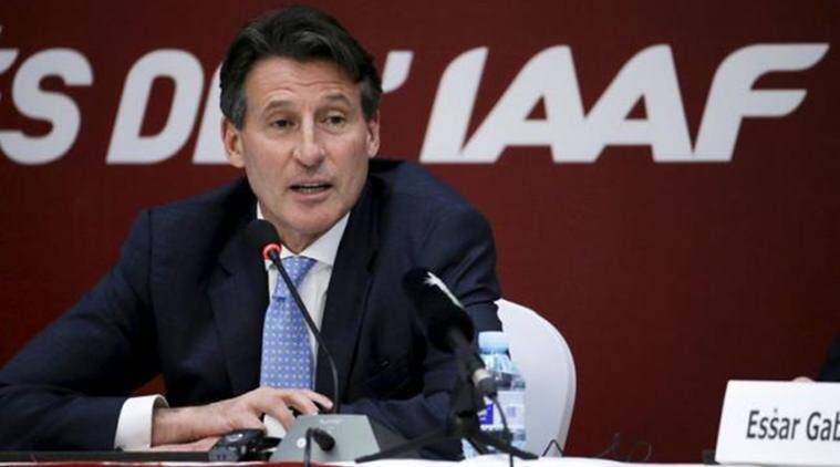 IAAF, IAAF chief, Sebastian Coe, IAAF chief Coe, IAAF president, International Athletics Federation, Athletics, Athletics news