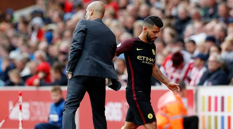 Guardiola: Aguero will get plenty of chances but has team responsibilities too