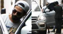 Shahid Kapoor, Mira Rajput, Shahid cool daddy pic, Shahid photos, father Shahid, new father shahid