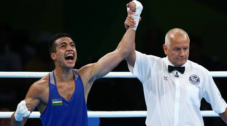 Boxing - Men's Welter (69kg) Semifinals Bout 208