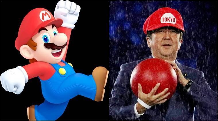Shinzo Abe as Mario, not as loved in his own country but an international sensation (at least on twitter) with this gag.