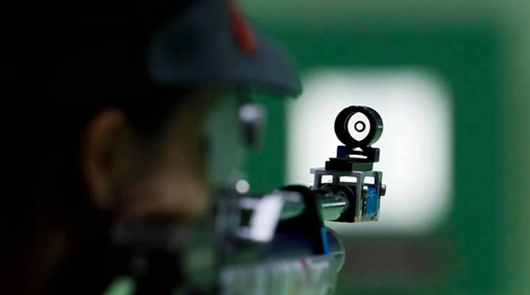 Image result for Meghan finishes fourth in women's Air Rifle at Gabala World Cup