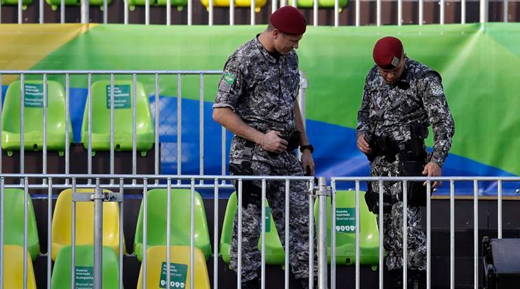 Rio 2016 Olympics, Rio Olympics, Rio 2016 Olympics security, Rio security, Rio security shot dead, shooting rio security, Rio, Olympics