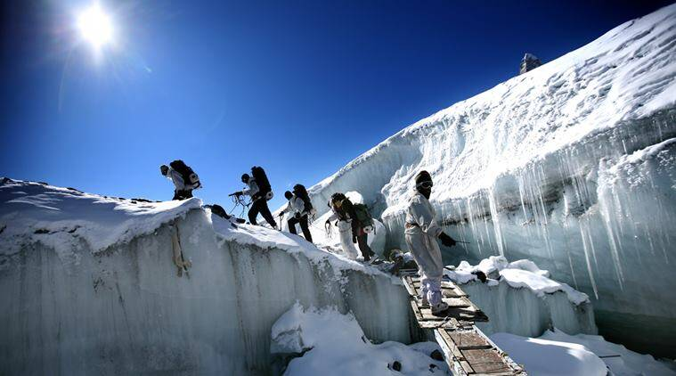 siachen, soldiers, siachen weather, Siachen Glacier, Siachen Glacier soldiers, Siachen soldiers, border soldiers, india news