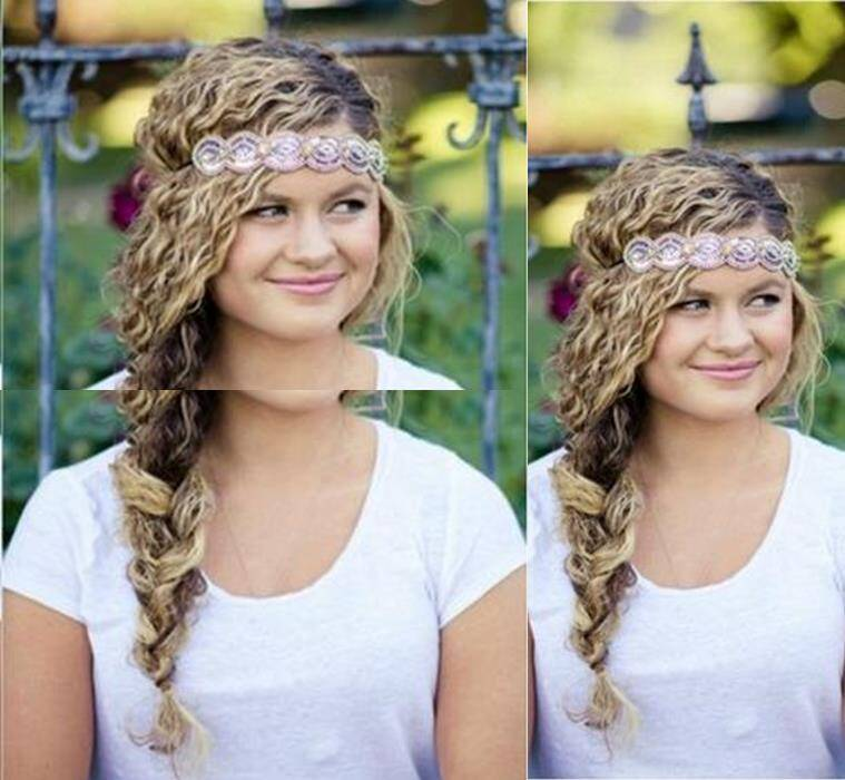 5 Diy Hairstyles For Curly Hair Lifestyle News The Indian Express