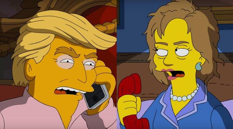 Simpsons, Donald Trump, American Elections
