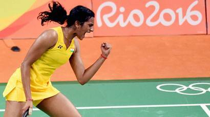 PV Sindhu storms into final, one win away from historic gold medal at Rio 2016 Olympics