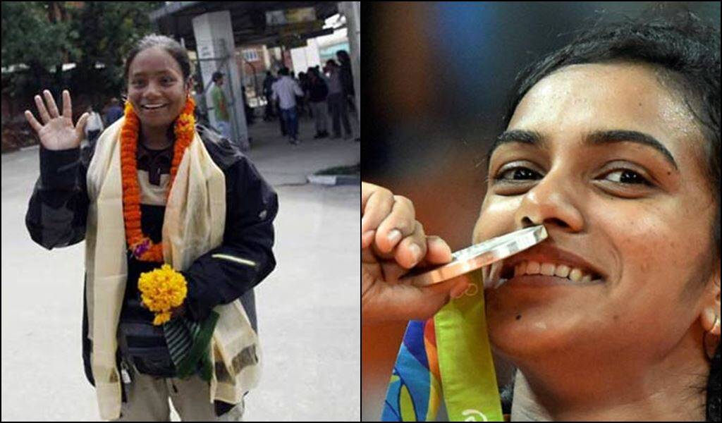 FLO honours amputee Everest climber Arunima Sinha, offers  lifetime membership to Sindhu