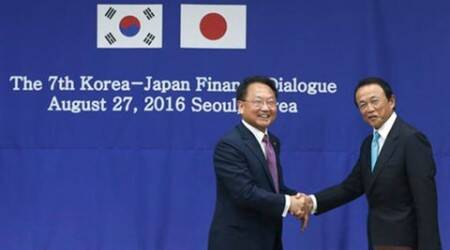 South korea, japan, foreign exchange, currency, S. korea, South Korea-Japan, bilateral meeting, finance, economic cooperation, World news