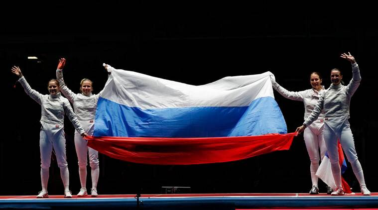 Sofya Velikaya, Sofya Velikaya Russia, Sofya Velikaya Fencing, Fencing, Russia Ukraine, Ukraine, Fencing Russia banned athletes, Rio 2016 Olympics, Rio Olympics, Fencing