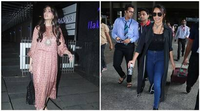 Sonam Kapoor slays with style, substance while Shraddha Kapoor returns to Mumbai for a reason