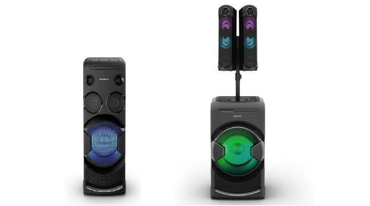 Sony Launches Gt4d And V44d Party Audio Systems The