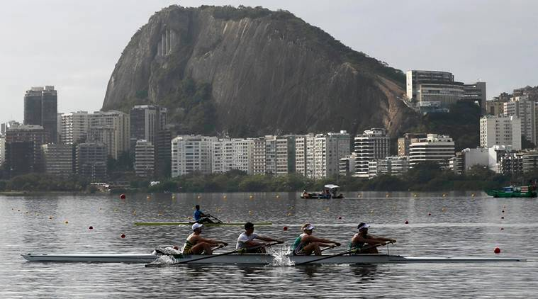 Rio 2016 Olympics, Rio 2016, Rio Olympics, Rio Olympics rowing, Rio rowing, Rio, Olympics, Rowing, SOuth African Rowing team, South Africa, John Smith, James Thompson, rowers