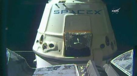 SpaceX, SpaceX Dragon capsule, SpaceX Dragon release, SpaceX Dragon ISS release, SpaceX Dragon capsule separation, SpaceX Dragon, tech news, technology