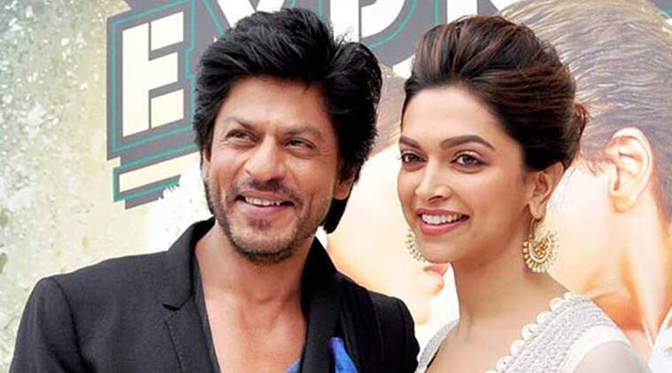 Image result for shahrukh khan and deepika