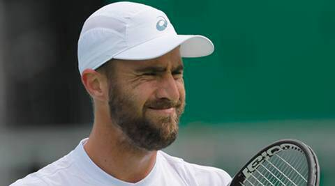 <b>Steve Johnson</b>, John Isner lead US advance at rainy Cincinnati - steve-johnson-f