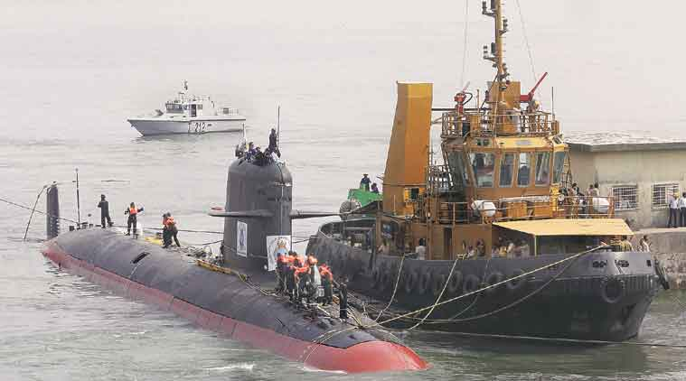 Scorpene, Scorpene leak, Scorpene submarine, Scorpene data leak, manohar Parrikar, Parrikar, parrikar on Scorpene, Scorpene submarine leak, India Scorpene, Scorpene India leak, india news