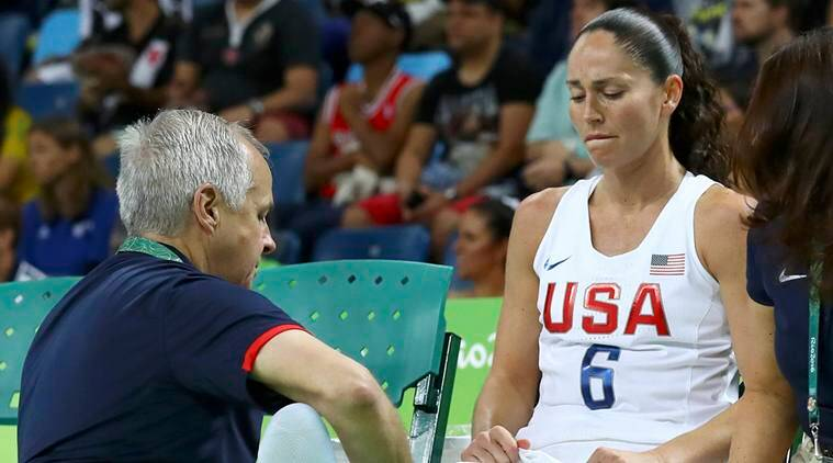 Sue Bird, Sue Bird US women's basketball, Sue Bird basketball ,Sue Bird US, Sue Bird injury, Bird, Rio 2016 Olympics, Rio Olympics, Olympics