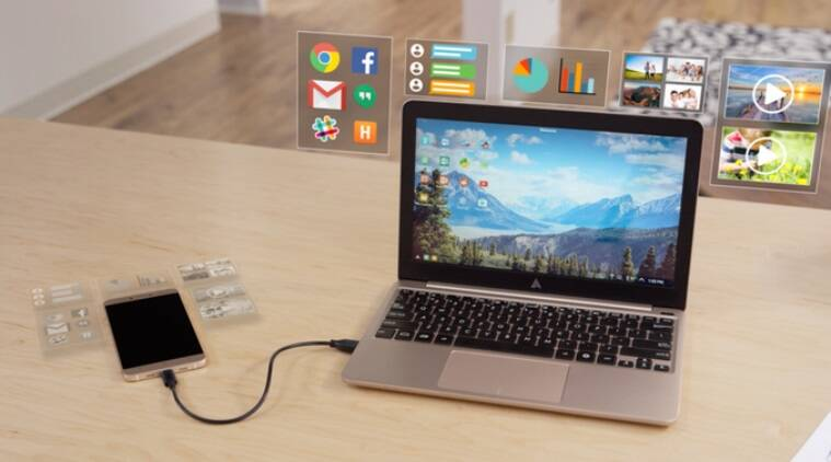 Superbook, Android,  device, turn Android to a laptop, Andromium, kickstarter, Superbook features, Superbook price, Superbook specifications, laptop shell, cheapest laptop, technology, technology news