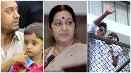 Celebs have made surrogacy a hobby, want to save their wives from labour pains: Sushma Swaraj