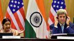 Sushma rules out talks with Pak, Kerry says no good or bad terrorist