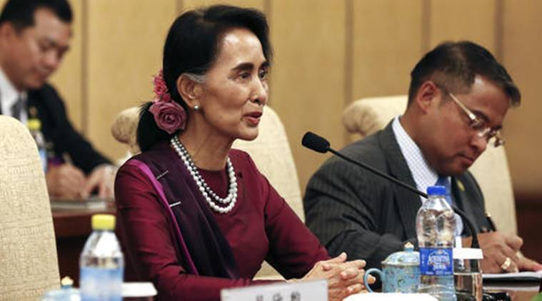 Suu Kyi, Aung San Suu Kyi, Mayanmar, China, Suu kyi, diplomatics ties, mayanmar and china, mayanmar and india, world news