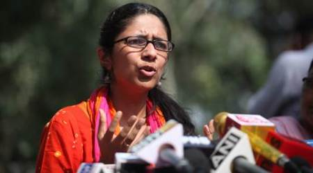 DCW chief Swati Maliwal claims union minister backing Delhi sex racket