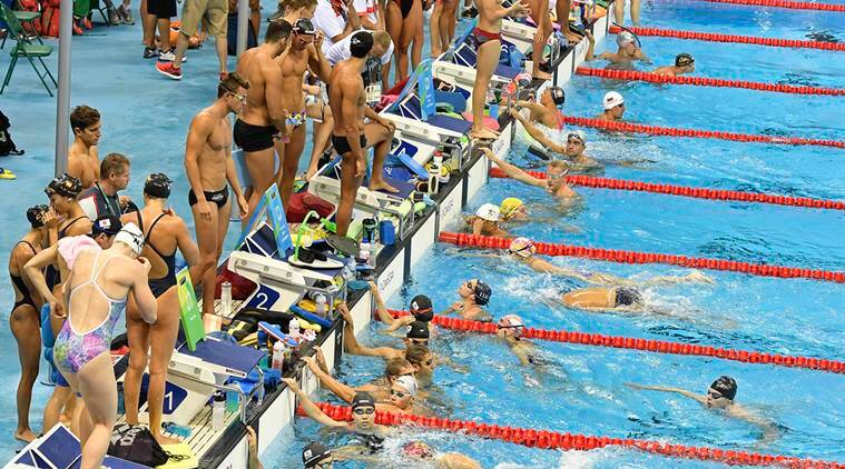 Rio 2016 Olympics, Rio Olympics, Rio Swimming, swimming, Omega, Omega swimming, digital lap counter, digital counter