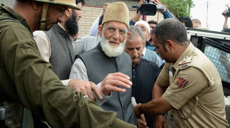 Jammu and Kashmir, J&K, kashmir, kashmir news, Syed Ali Shah Geelani, pulwama village headman killing, village headman killing, jammu and kashmir government, Kashmir unrest, Kashmir violence, Kashmir protests, Kashmir curfew, kashmir news, india news, indian express