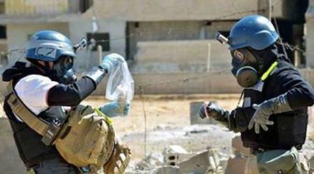 syria, syria chemical weapons, syria war, chemical weapons syria, syria government chemical weapons, syria news, world news, indian express news